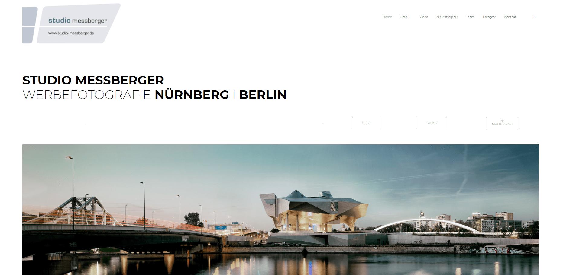 Pagestarter Websiteerstellung Referenz Studio Messberger